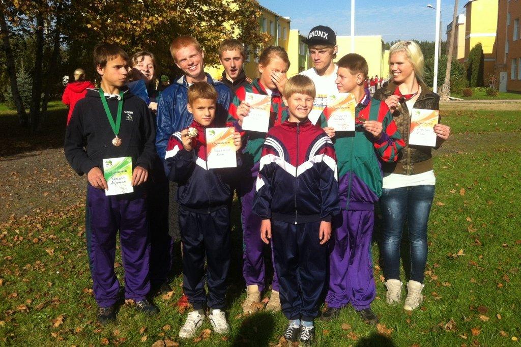 Latvijas Speciālās Olimpiādes rudens kross