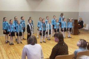 Rīgas mūzikas internātskolas skolēnu koncerts