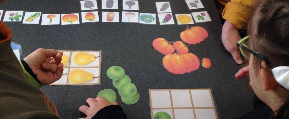 Iepazīstot augļus un dārzeņus